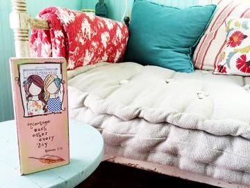 hybrid mixed media faith home decor by Beth Cupitt   Illustrated Faith Guest Blogger