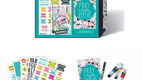 Illustrated Faith Bible Journaling Starter Kit by Bella Blvd