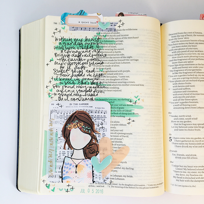 A Hymn for Him by Bailey Jean Robert | Beloved Society hymn girl printables