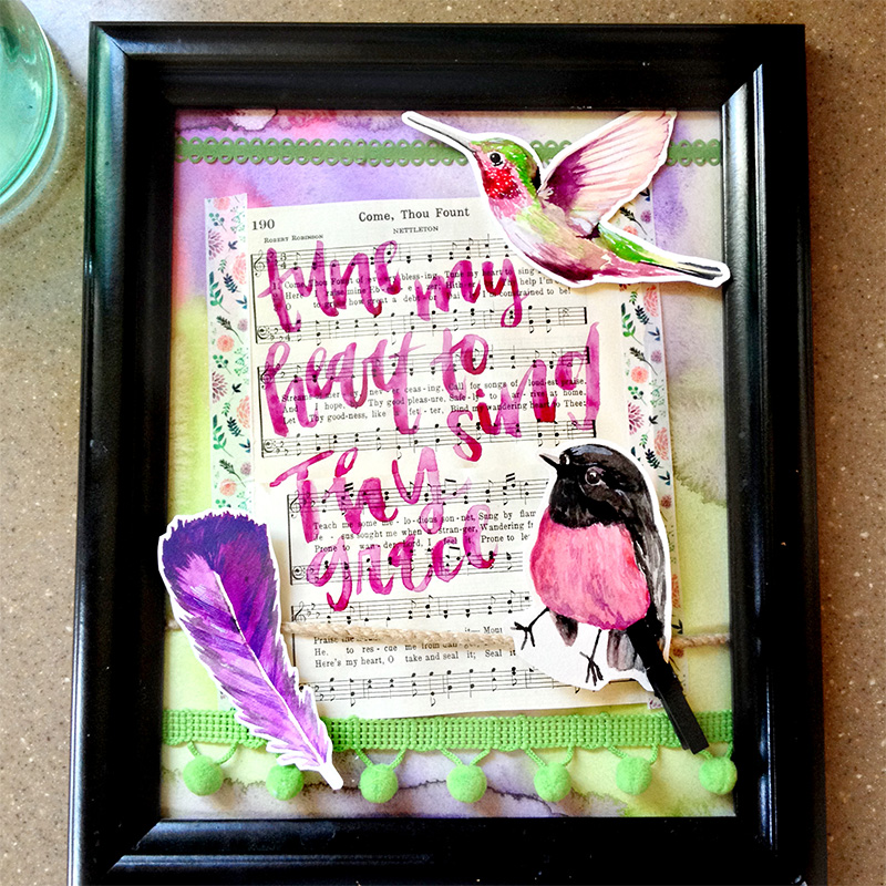 hybrid faith watercolor home decor by Brianna Showalter