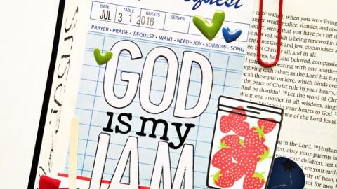 God is my Jam   a process video