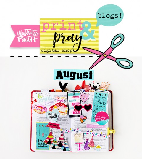 New August Releases for Print & Pray!