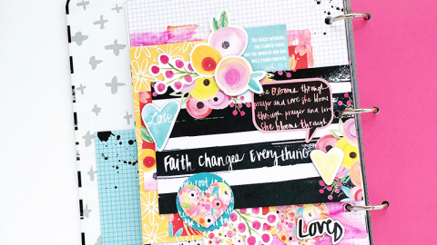 Hidden Prayer Journaling and Encouragement