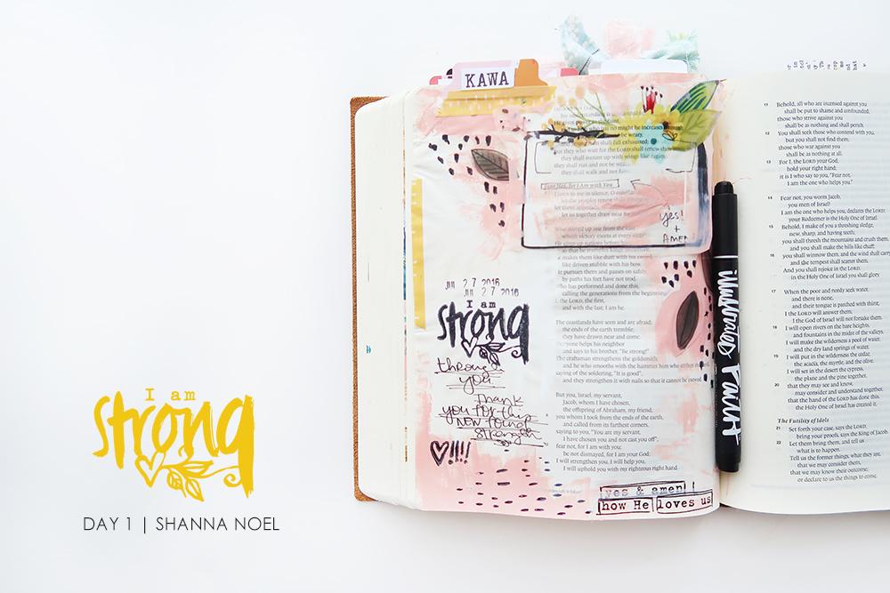 iamSTRONG1_web bible journaling