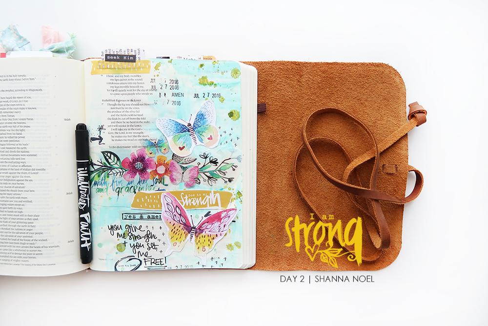iamSTRONG2_web bible journaling