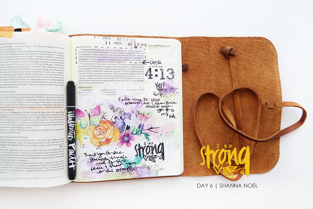 iamSTRONG6_web bible journaling