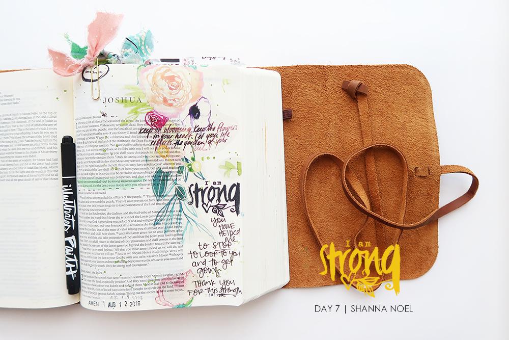 iamSTRONG7_web bible journaling