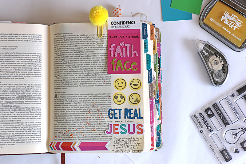 process video - sewing in your Bible by Natalie Elphinestone | Bible Journaling