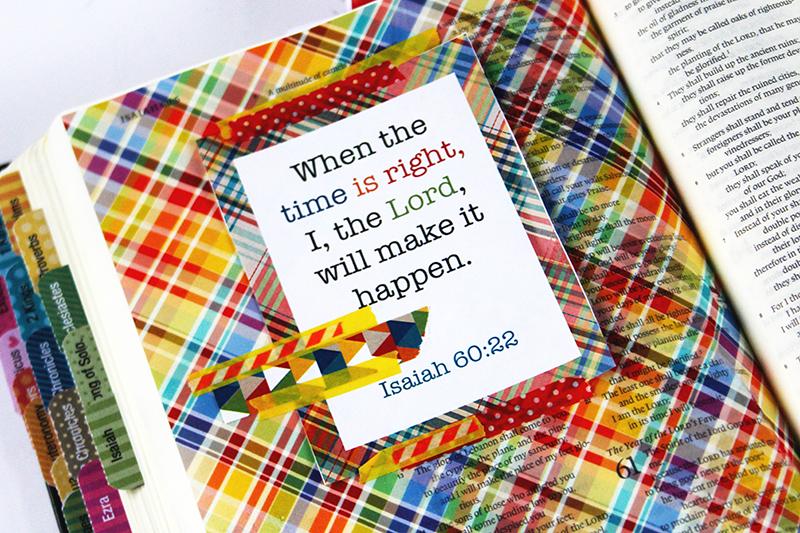 tutorial | Bible journaling Sticker Paper Background