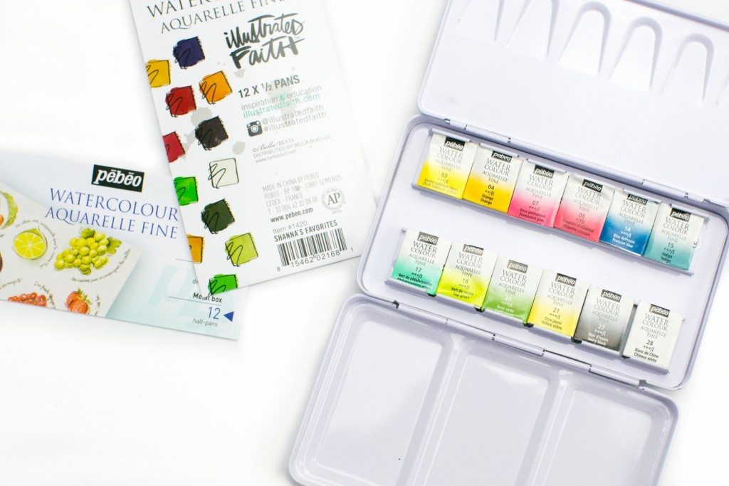 tutorial customizing your watercolor palette by Amy Bruce