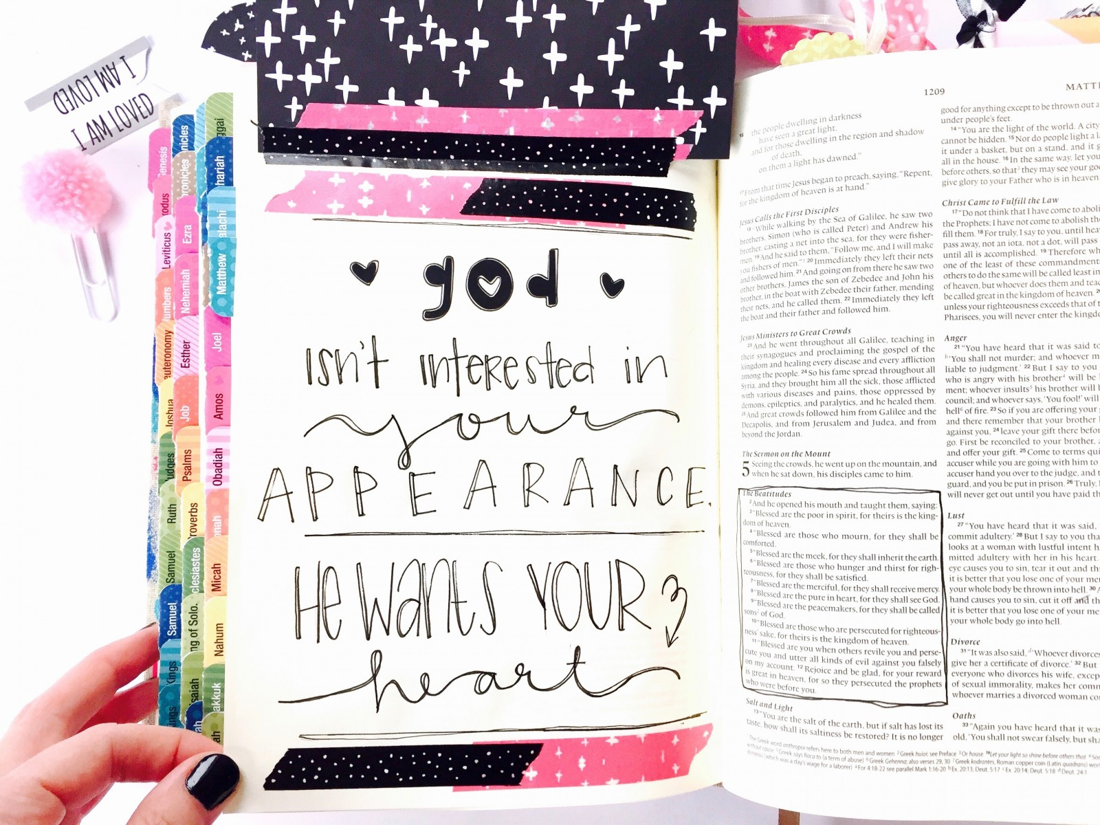 Lessons In Bible Journaling by Tawni Sattler | Interleaved Journaling Bible | Illustrated Faith by Bella Blvd