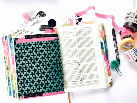 What's Inside? Lessons in Bible Journaling