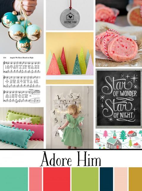 December Artist Mood Board: Adore Him