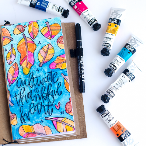 """What does """"mixed media"""" mean? and tutorial   Gratitude Documented"""