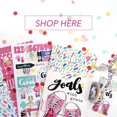 YAY!!!! Goals with Grace bible journaling kit is NOW LIVE!!!!