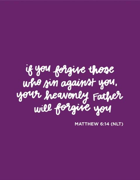 Sunday Inspiration from Matthew 6:14 *plus SNEAK PEEK!!*