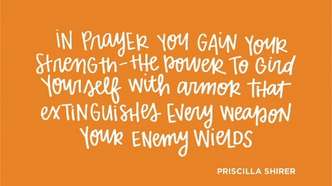 Sunday Inspiration from Priscilla Shirer