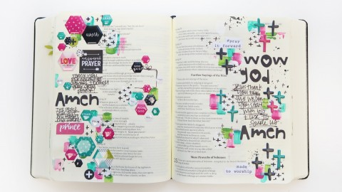 New Bible Journaling Goodies | Win It Before You Can Buy It | HEXIES !!!!!