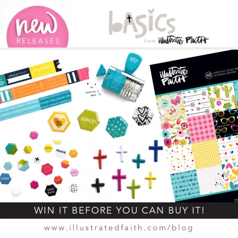 New Bible Journaling Goodies | Win It Before You Can Buy It | Basics Collection !!