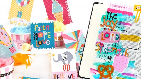 *NEW Bible Journaling Release!* Delight in His Day!!!