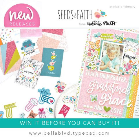 *NEW bible journaling RELEASE* Seeds of Faith!!!