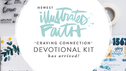 Craving Connections Bible Journaling Kit Is HERE!!!
