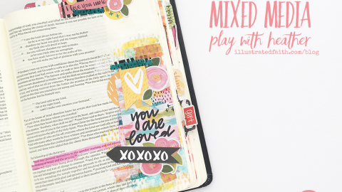 Process Video | Mixed Media Play With Heather | Acts 2:42
