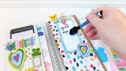 Making Dry Erase Scripture Cards from Printables!
