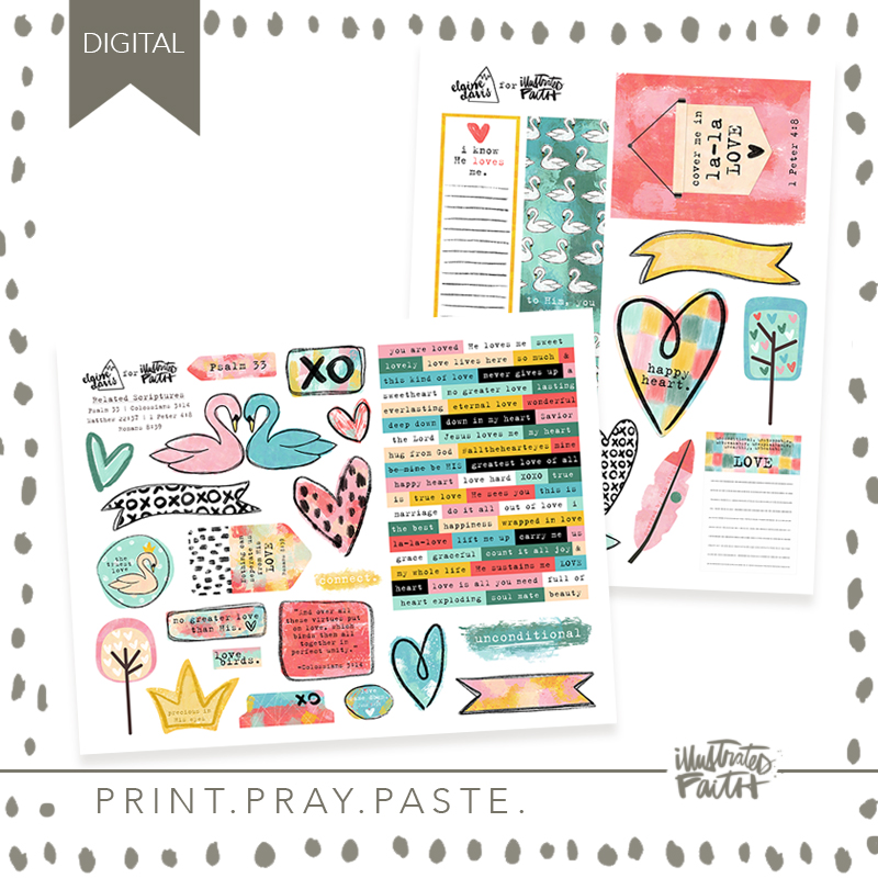 February Artist Mood Board & New Releases: Work of Heart