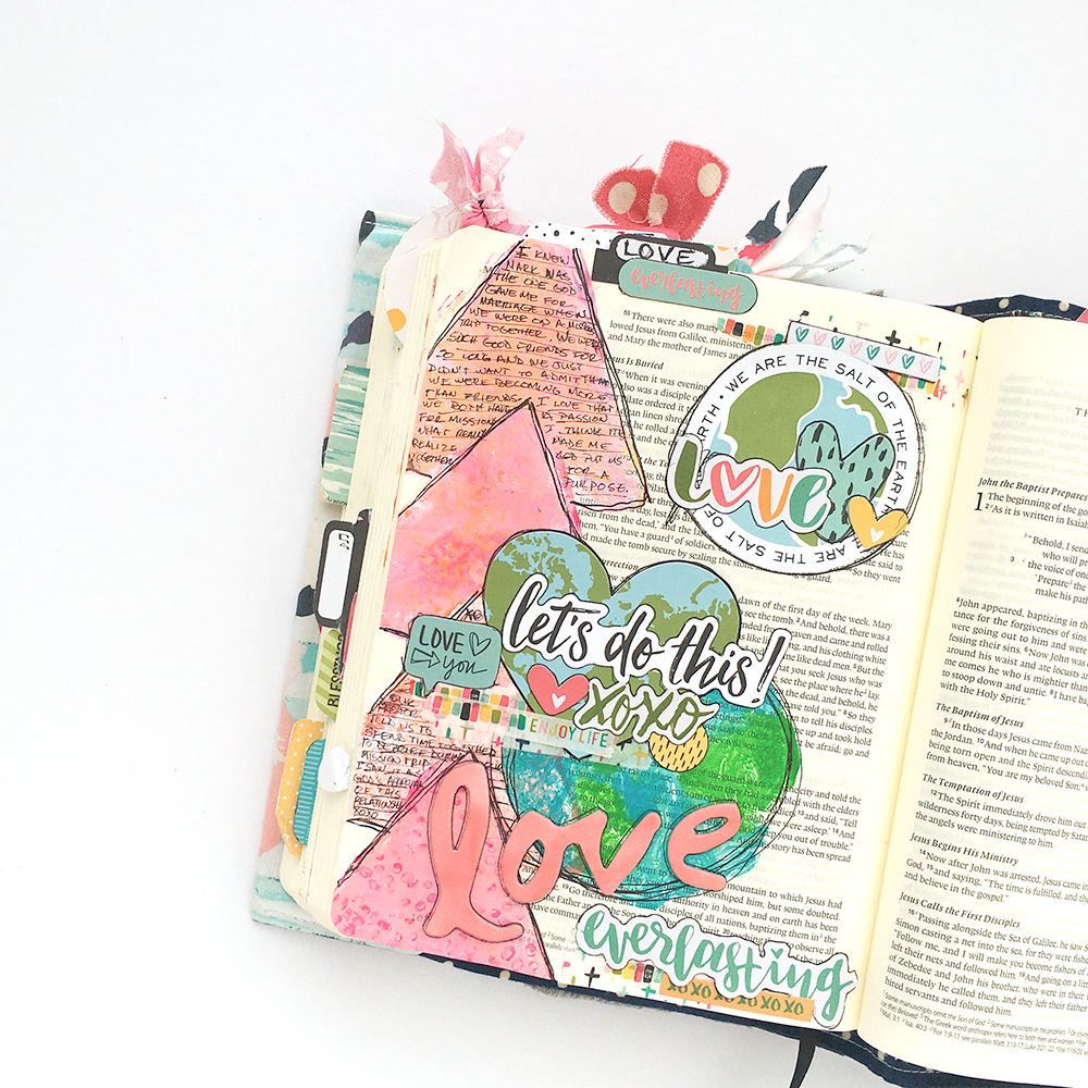Mixed media bible journaling tutorial gelli plates 101 love mixed media gelli plate tutorial and bible journaling entry by heather greenwood illustrated faith stubborn baditri Gallery