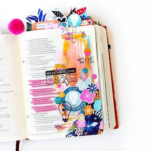 bible journaling print pray shop
