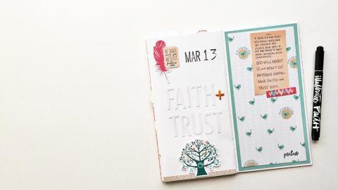 Memory Keeping: Faith Edition | Psalm 91:4