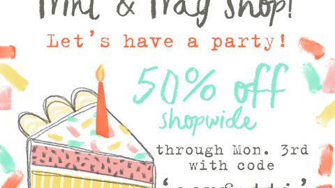LAST DAY of the Birthday Sale & Project Inspiration!