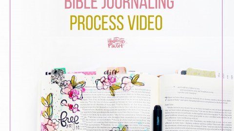 Free From Shame Bible Journaling Video