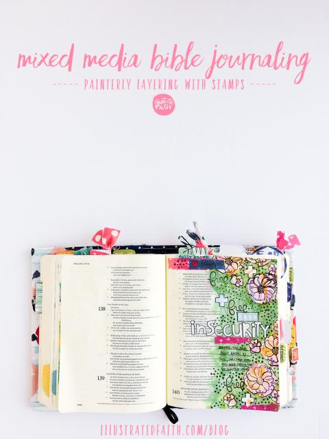 Mixed Media Bible Journaling Tutorial | Painterly Layering