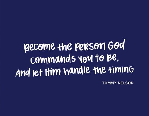 Sunday Inspiration from Tommy Nelson
