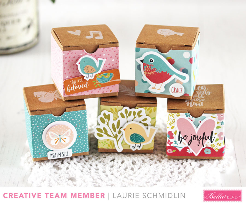 Seeds of Faith Gift Boxes by Laurie Schmidlin