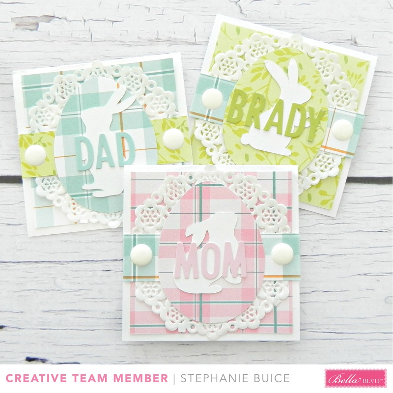 Easter Place Cards by Stephanie Buice