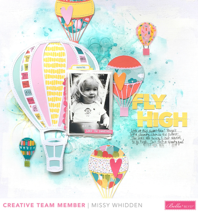 Delight in His Day Layout + Video with Missy