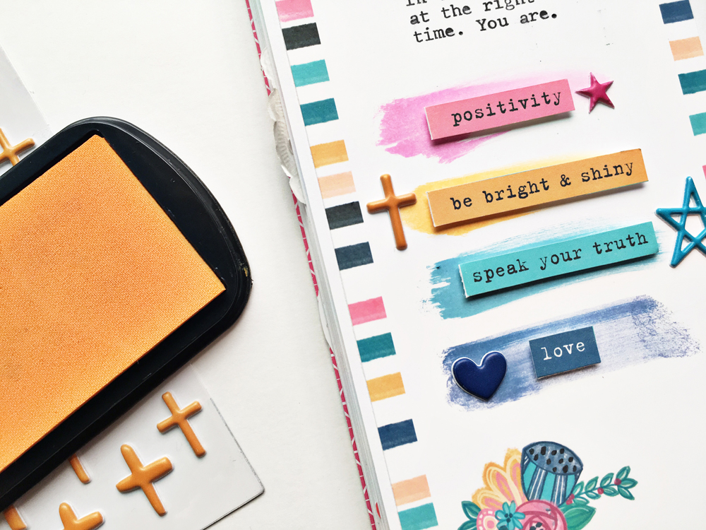 faith traveler's notebook entry by Andrea Gray | Memory Keeping: Faith Edition | The Perfect Time to Shine
