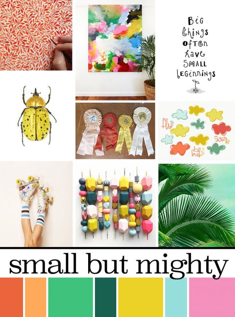 May Artist Mood Board & New Releases: Small But Mighty