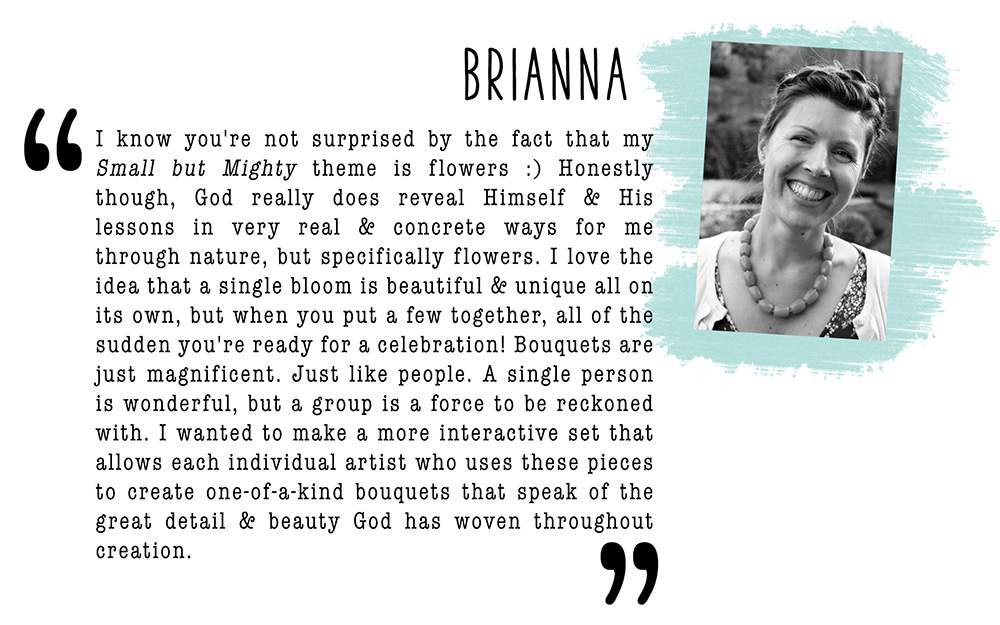 May Artist Mood Board & New Releases: Small But Mighty Brianna