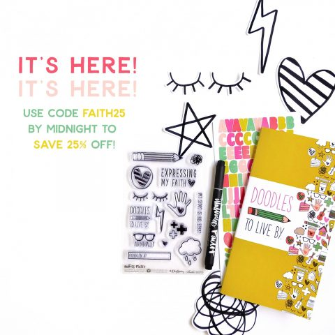 Bible Journaling Kit – Doodles To Live By Is Here!!