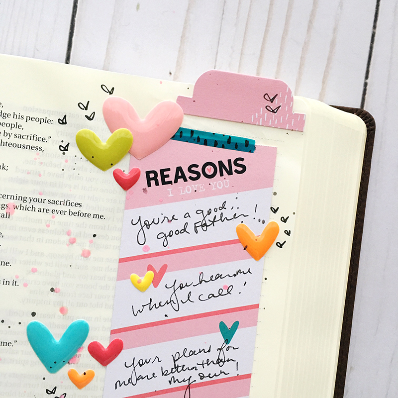 Worth the Wait | Every Reason to Love | Bible journaling entry by Bailey Jean Robert