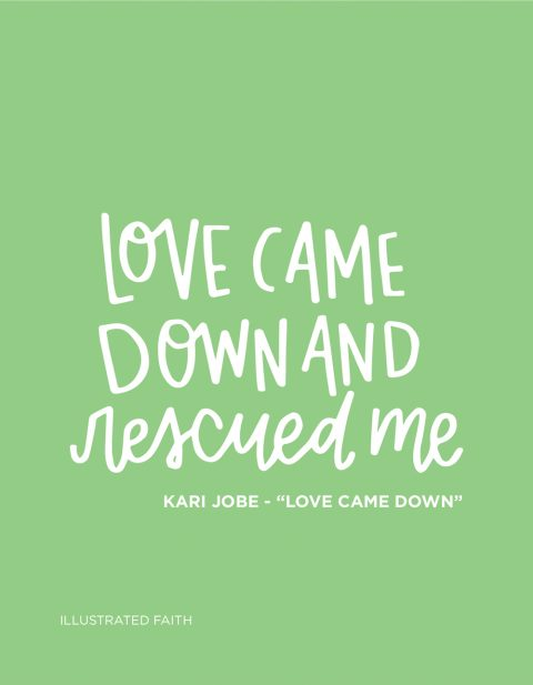 Sunday Inspiration from Kari Jobe