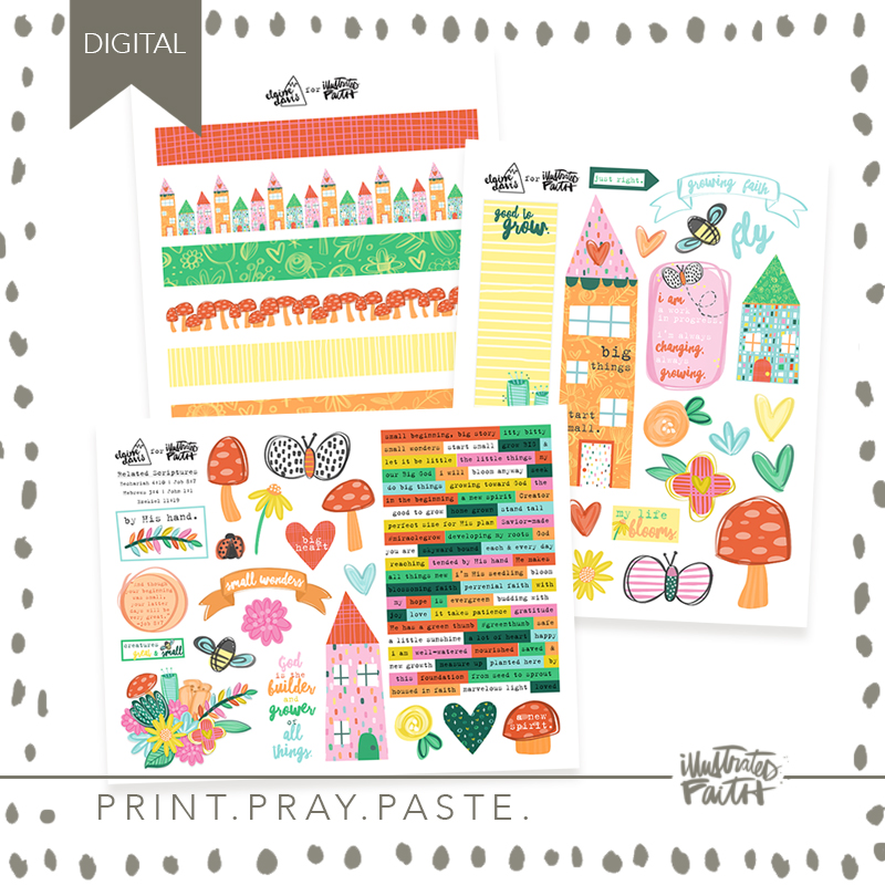 May Artist Mood Board & New Releases: Small But Mighty Elaine Davis
