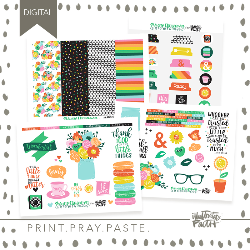 May Artist Mood Board & New Releases: Small But Mighty | Shawna Clingerman