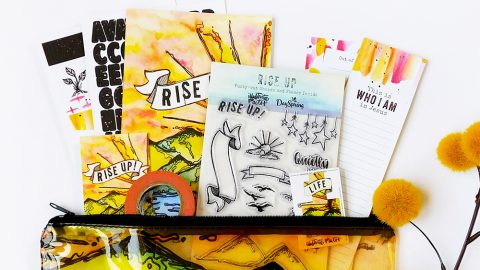 Let's Rise Up! New Bible Journaling Kit!