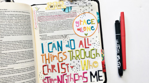 Memory Keeping: Faith Edition | Through Christ Who Strengthens Me