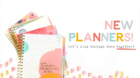 New Planner Flip Through! 5 Designs!!